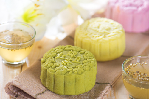 Traditional Asian Pastries