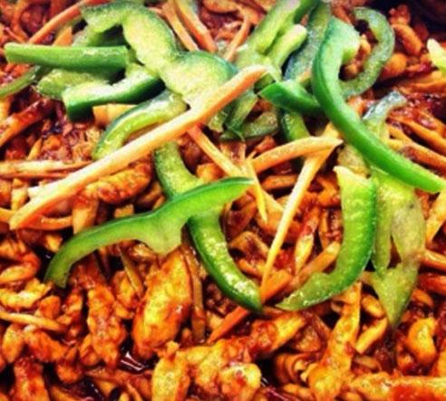 Chicken-with-Garlic-Sauce