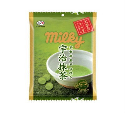 fujiya milky green tea