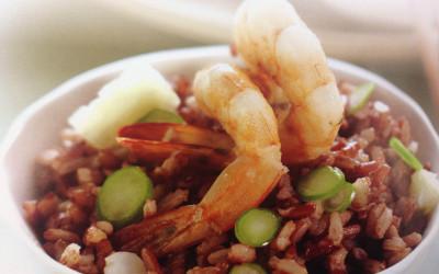 Fried Brown Rice W Prawn