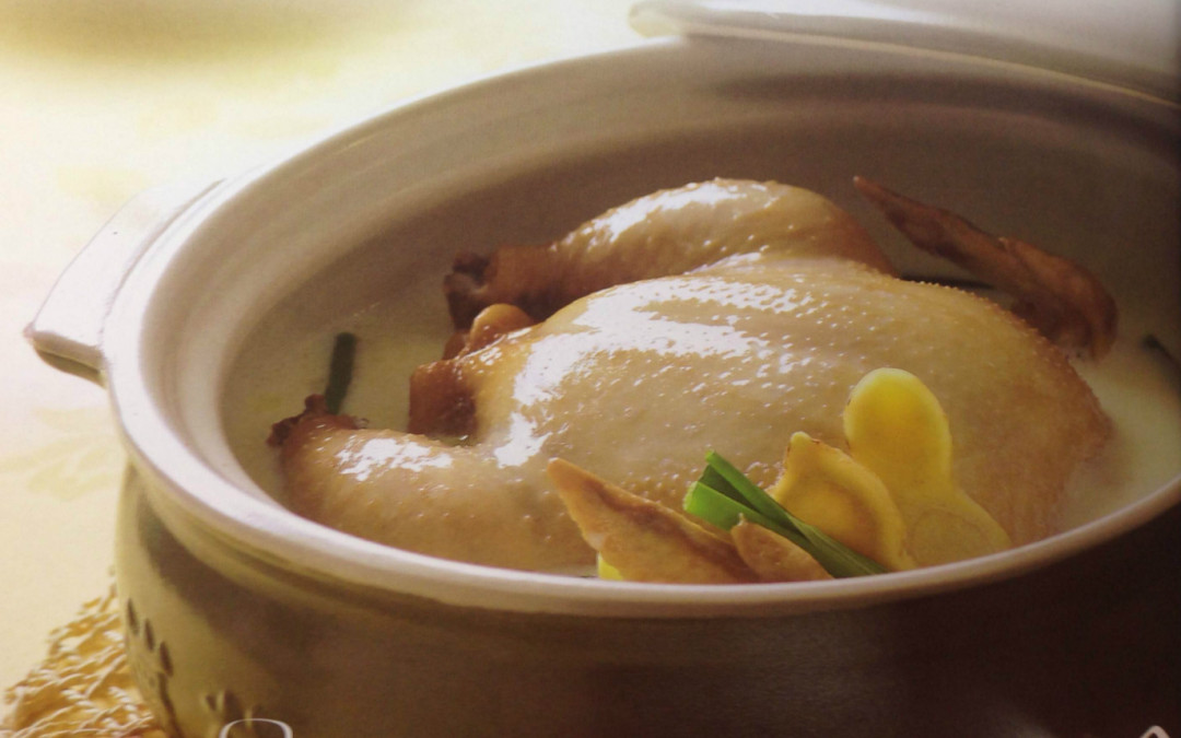 Chicken Soup with Milk
