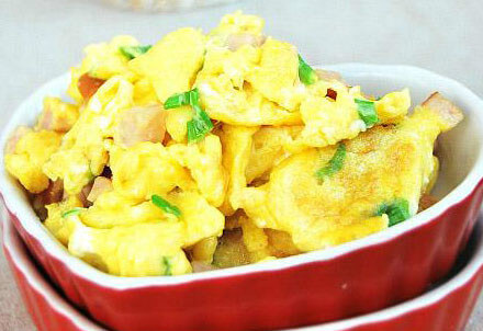 Chinese Style Scrambled Eggs